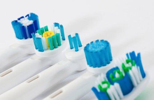 Modern toothbrushes